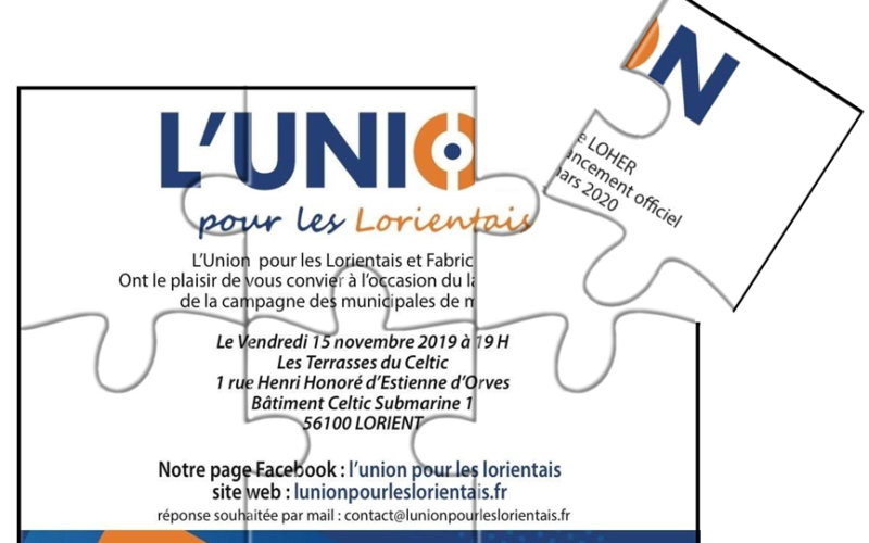 Invitation 15 novembre 2019 municipales 2020